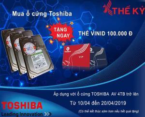 KHUYẾN MÃI: Mua Toshiba AV tặng thẻ VINID