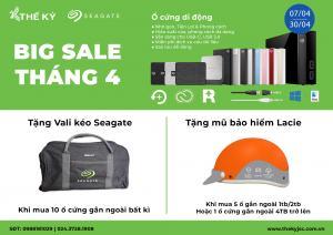 SEAGATE - BIG SALE THÁNG 4